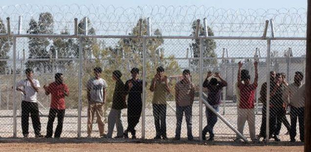 About Amigdaleza Detention Camp (Menidi)